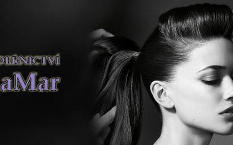 Dámské kadeřnictví - mytí, střih, vyživující vlasový zábal, foukaná a styling!