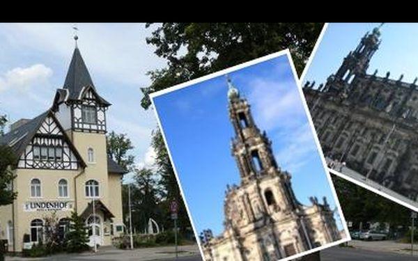 Užijte si ve dvou romantický výlet do nedalekých Drážďan se 43% slevou:Hotel pro 2 osoby včetně snídaně jen za 1299 Kč! Ideální za památkami či romantikou a nákupy.