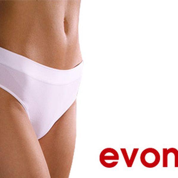 Troje bezešvé kalhotky Evona s poštovným – velikosti S/M, L/XL, 4 barvy, materiál 95 % polyamid, 3 % elastan, 2 % bavlna