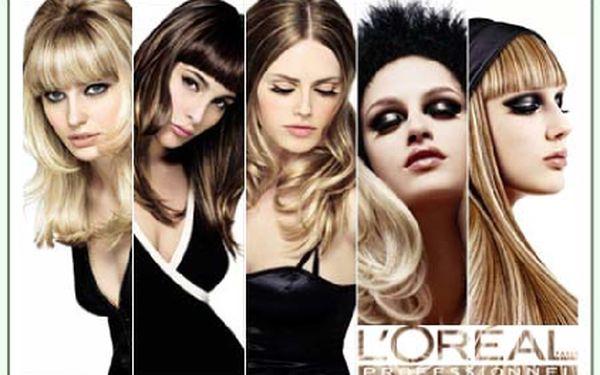 Profesionální kreativní střih a melír L Oréal ve Studiu HRADČANSKÁ jen za 380,-