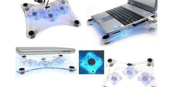 Chladící podložka na notebook - Cooling pad za skvělou cenu 149 Kč!