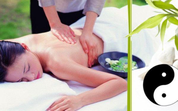 Dopřejte si báječných 60 minut relaxace v podobě čínské masáže. Tato masáž vychází z Tradiční čínské medicíny a vyrovnává jin a jang meridiány v těle. Nyní jen 349 Kč!