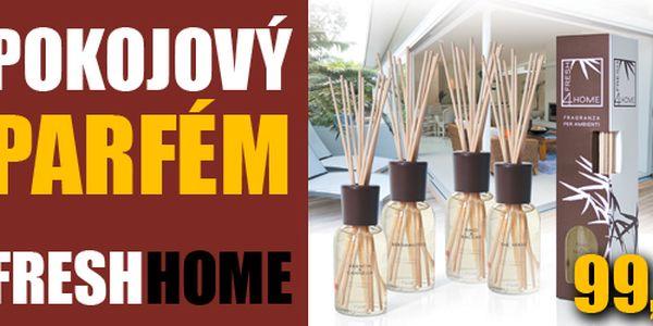Provoňte si domov jedinečným Pokojovým parfémem – FRESH HOME! Nyní za neskutečných 99 Kč (sleva 72%)! Výdrží neuvěřitelné 2 - 3 měsíce!
