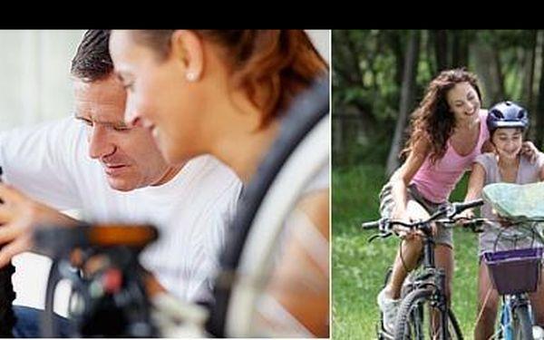 Připravte se na dovolenou a svěřte své kolo do rukou odborníků. Kvalitní servis jízdních kol za skvělých 350 Kč, nyní s 53% slevou v Brně!