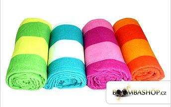Hit léta 2012! Rychleschnoucí osuška nebo 3 ručníky z mikrovlákna za 249 Kč.