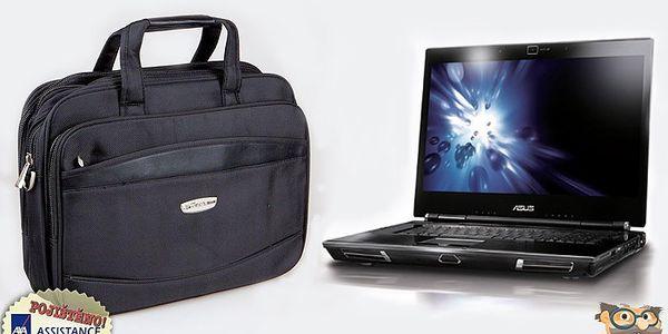 Chraňte svůj notebook na cestách! Elegantní brašna na notebook pro velikosti 10 – 16 palců.