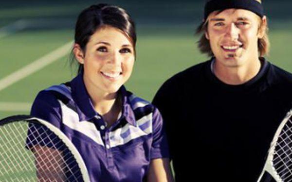 Tenisový víkend pro 2 osoby v Jizerských horách s plnou penzí, 12 hodinami výuky tenisu, wellness a turnajem za super cenu 3500 Kč!