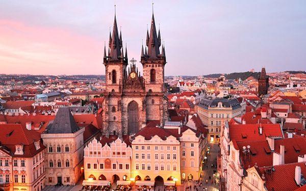 Praha pro DVA na 3 dny jen 20 min. od centra