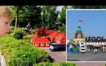 Dopřejte svým dětem úžasné Lego-hrátky! Rozlučte se s prázdninami parádním výletem do zábavního parku s více jak 40-ti atrakcemi LEGOLAND v Německu, jen za 1.800 Kč!