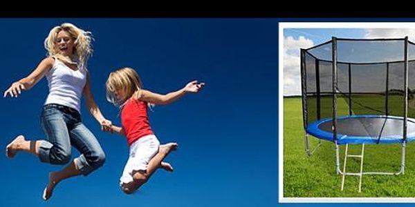 Trampolína v setu RCT o průměru 3,35 m se slevou 33 %: Pořiďte si domů trampolínu, která přinese radost a zábavu z pohybu pro celou rodinu.