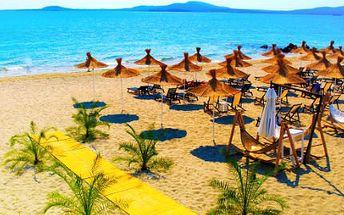 8denní letecký pobyt v Bulharsku! Polopenze, nejčistší pláže a pojištění!