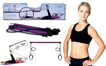 Cvičební pomůcka na cvičení pilates jen za 229 Kč! Přenosné pilates studio!