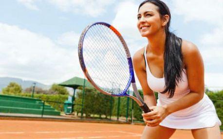 1 hodina tenisu s trenérem! Naučte se backhand i forehand jen za 450 Kč včetně pronájmu kurtu!