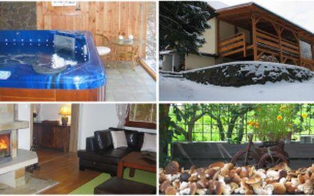 Čtyřdenní pronájem luxusní chaty na Valašsku!