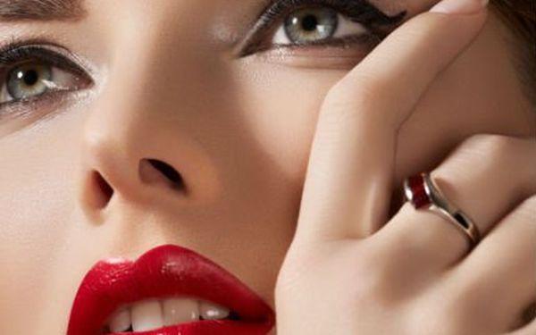 Permanentní make-up za 590 Kč! Získejte trvale krásný vzhled! Linky, obočí nebo kontura rtů!