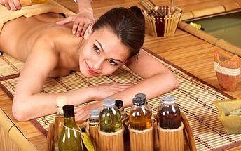 """Bylinná relaxační masáž, tzv. """"masáž na míru"""", zaměřená na bolestivá místa zad, čistě přírodními oleji."""