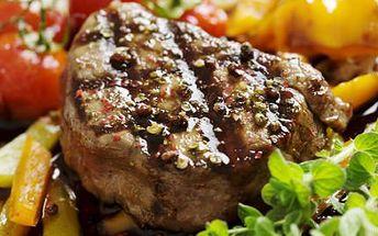 Roštěnka a hranolky pro dva! Vychutnejte si skvělé jídlo za super cenu 249 Kč!