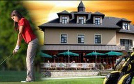 GOLF POBYT - 2 denní golfový pobyt pro 2 osoby v Golf Hotelu Morris**** Mariánské Lázně