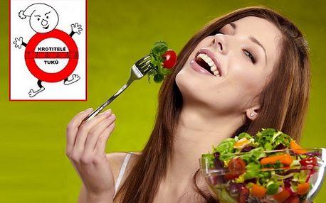 """750 Kč za vzdělávací tříměsíční kurz zdravého stravování """" Krotitelé tuků"""". Individuální péče vlastního trenéra, pravidelné měření a zhodnocení výsledků, kontrola Vašeho jídelníčku - to vše Vám pomůže redukovat váhu jak dolů tak i nahoru. Pomůžeme Vám k optimalizaci životního stylu, detoxikaci organismu a novému povědomí o životosprávě. Kurz pro všechny od 15 do 100 let. Přijďte k nám, do Wellness Centra v Brně a my Vás naučíme orientovat se v potravinách a správně nastavit svůj jídelníček!"""