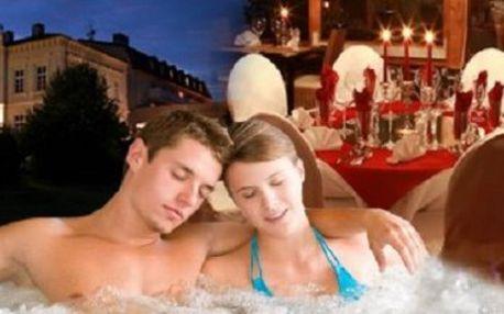3 denní ROMANTICKÝ POBYT ve sklářském měste pro 2 osoby s platností do 16.12. 2012 s wellness procedurami, masáží a vstupem do Aquaparku