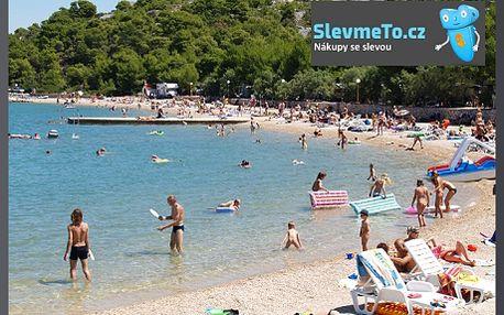 12 780 Kč Chorvatsko, 10denní zájezd s dopravou, kemp, pro 4 osoby! Pobyt v chatce v nejlepším chorvatském kempu se slevou 44%. Užijte si dovolenou s rodinou nebo přáteli na chorvatském ostrově Murter. Omezená nabídka! K dispozici jsou pouze 3 chaty. Vychutnejte si léto u moře v prosluněném Chorvatsku.