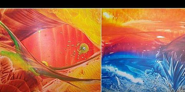 Kurz malování horkým voskem - Nyní se slevou 60%. Naučte se originální výtvarnou techniku = ENCAUSTICA = místo štětcem malujeme žehličkou. Navíc pomůcky zdarma.