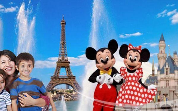 5-denní zájezd do PAŘÍŽE s hotelovým ubytováním, pobytem v zábavních parcích Disneyland a Asterix park pro děti a dospělé od Adria Travel! Nyní jen za 3990 Kč!