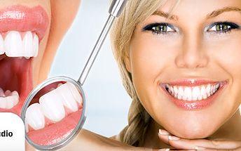 ZÁŘIVĚ BÍLÉ ZUBY s 57% slevou!! BĚLENÍ ZUBŮ New White Smile za skvělých 1299 Kč!! Získejte nádherný a nepřehlédnutelný úsměv během jedné návštěvy studia!! Vhodné pro kuřáky a milovníky kávy!