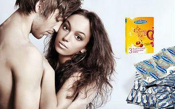 100 ks kondomů Primeros! 50 ks jahodových a 50 ks extra odolných!