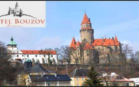 4dny s polopenzí Olomoucko - u hradu Bouzov