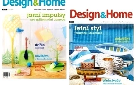 Roční předplatné časopisu Design&Home včetně volných vstupenek na výstavy a veletrhy o bydlení.