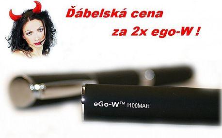 2 kusy eGo-W - nejlepší e-cigareta na trhu!
