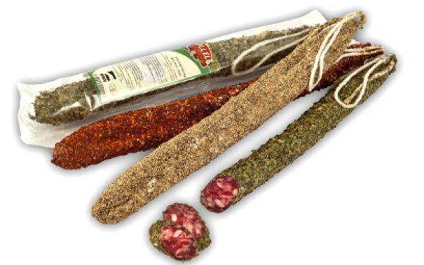 Tradiční španělské klobásky za 138 Kč! 3 druhy po 150 g v jednom balení!