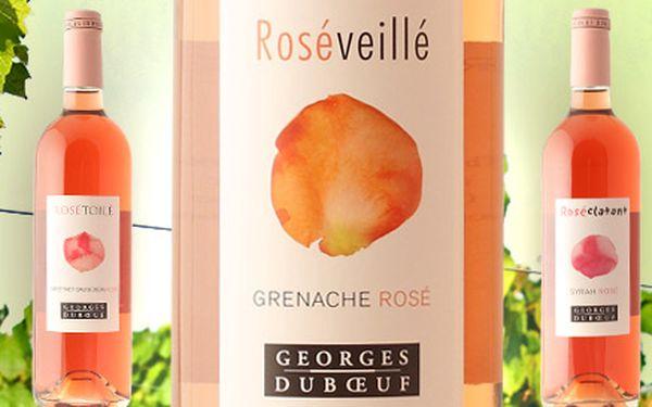 6 výběrových růžových vín z Francie