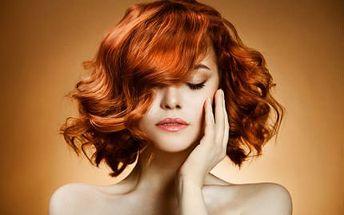 Kadeřnický balíček pro dámy! Mytí, melír, zábal, střih, foukaná i styling pro všechny délky vlasů!
