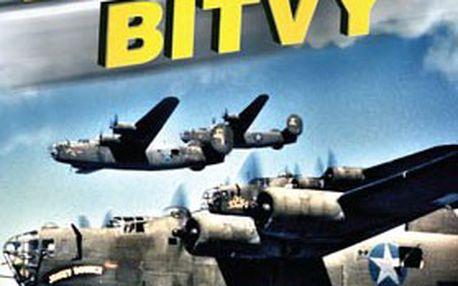 Jedinečná kolekce 3 dvd letecké bitvy – poznejte slabé a silné stránky okřídlených strojů a schopnosti statečných pilotů