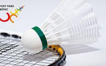 559 Kč za permanentku na badminton do Sport Parku Liberec. 8 hodin dynamické hry ve špičkové badmintonové hale. Zapůjčení raket a míčků ZDARMA! HyperSleva 60 %.