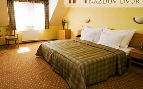 Luxusní třídenní wellness pobyt pro DVA v hotelu Kazdův Dvůr **** u Františkových Lázní se slevou 53 %!