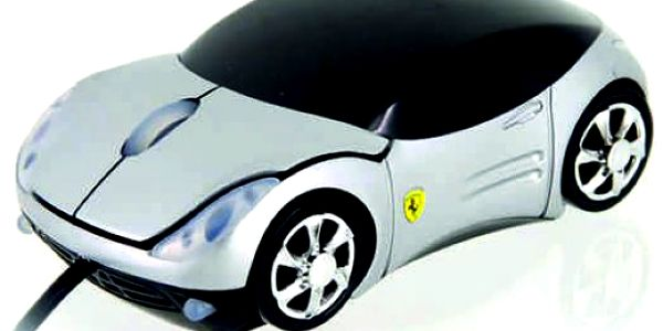 Splňte si svůj sen!! Pořiďte si USB myš k PC ve tvaru luxusního auta!! Nyní jen za 219 Kč!