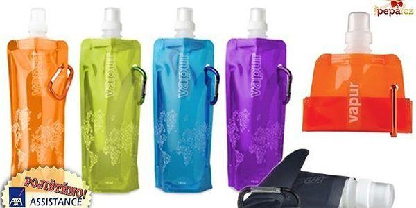 Čtyři skládací Vapur EKO lahve jen za 99 Kč