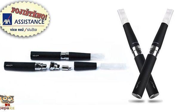 Dvě elektronické cigarety eGo-C 650mAh s příslušenstvím