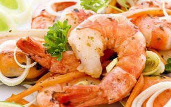 30 ks tygřích krevet jen za 249 Kč! Vychutnejte si krevety ve známé Pizzerii Cappuccini!