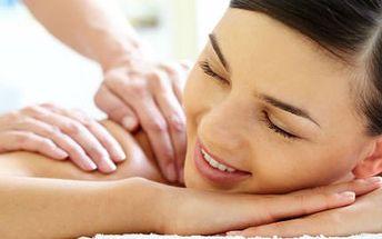 Hodinová masáž dle výběru! Vyberte si mezi masáží lávovými kameny, klasickou a mnoha dalšími!