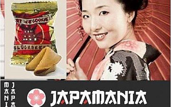 Pouhých 50 Kč za 10 Koláčků Štěstí od japonské prodejny Japanmania v Olomouci