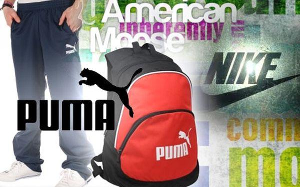 Využijte slevu až 50% na značkové oblečení Nike, Puma, Adidas, Roxy a další!