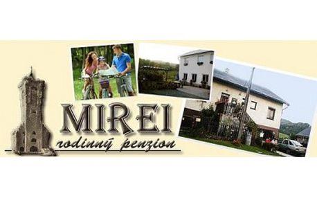 Užijte si nádhernou přírodu, výlety a sportovní vyžití v krásné části Jeseníků, v rodinném penzionu Mirei na ...