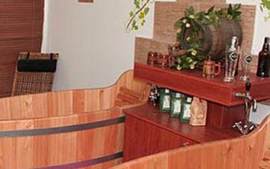Nabitý 3denní RELAXAČNÍ BALÍČEK pro 2 osoby v pivních lázních Poděbrady + ubytování se snídaní ve stylovém penzionu Flídr