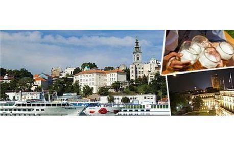 Navštivte s přáteli metropoli Srbska a užijte si víkend nebo blížící se BEER FEST! Složte hlavu v centru Bělehradu...