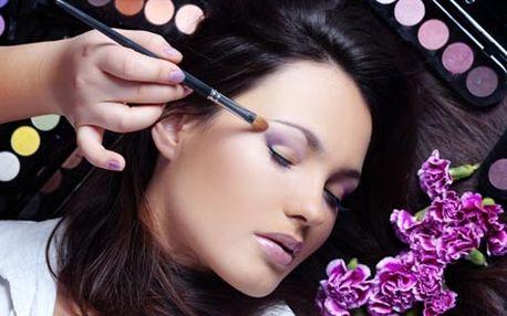 2 druhy líčení včetně poradenství pod vedením profesionální vizážistky v minikurzu na Vinohradech.