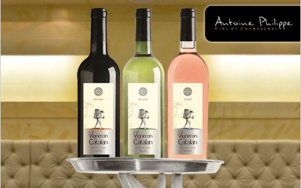 Skvostná vína Le Vigneron Catalan za skvělých 99 Kč. Okuste nejlepší vína.